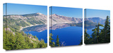 Crater Lake 3-Piece Canvas Set