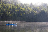 A Serene Canoe Ride in the Early Morning Hour on Lake Placid