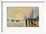 Monet: Thames  1871