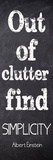 Out Of Clutter