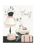 Dress Fitting I Reproduction d'art par Marco Fabiano