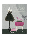 Dress Fitting Boutique III Reproduction d'art par Marco Fabiano