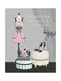 Dress Fitting Boutique IV Reproduction d'art par Marco Fabiano