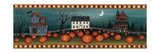 Halloween Eve Crescent Moon