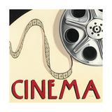 Cinema Reproduction d'art par Marco Fabiano