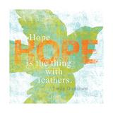 Letterpress Hope