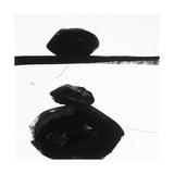 Black and White J Giclée premium par Franka Palek