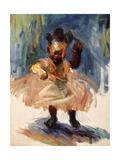 Danseuse Giclée premium par Edosa Oguigo