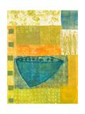Blue Vase Rhythms Giclée premium par Doris Mosler