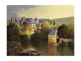 Boathouse on the Dordogne