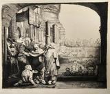 Saint Pierre Guerissant le Paralylique (B94)