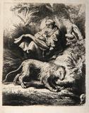 Saint Jerome Lisant (B100)