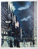 Evening - Fifth Avenue