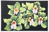 Green and White Irises