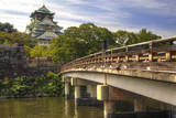 Japan  Nara Prefecture  Osaka View of the Osaka Castle from bridge