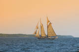 Rockland  Maine  USA Windjammer Schooner called the Mary Day