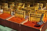 Spain  Granada Spices for sale at an outdoor market in Granada