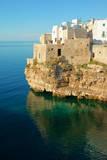Italy  Apulia  Polignano a Mare Old village on a cliff