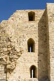 The crusader fort of Kerak Castle  Kerak  Jordan
