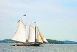 Windjammer Schooner called the Stephen Taber  Rockland  Maine  USA