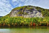 Autumn Echo Lake State Park  New Hampshire  USA