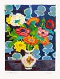 Bouquet Et Tapisserie