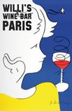 Willi's Wine Bar, 2005 Reproduction pour collectionneurs par Jean-Charles De Castelbajac
