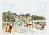 Paris  le jardin du Luxembourg II