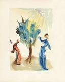 Divine Comedie  Purgatoire 24: L'arbre du chatiment