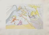 La Fontaine Dalinisé : les éléphants et le singe Édition limitée par Salvador Dalí