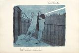 Nuit Blanche Reproduction pour collectionneurs par Jean-Gabriel Domergue