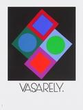 Expo Vasarely (affiche avant la lettre)