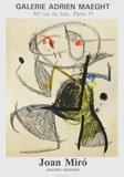 Expo 83 - Galerie Maeght Reproduction pour collectionneurs par Joan Miró