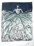 Composition 40 fond bleu