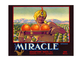 Miracle Orange Label