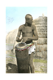African Tribal Drummer