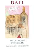 Teatro Museo Figueras 1 Reproduction pour collectionneurs par Salvador Dalí