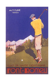 Golfing in the Alps