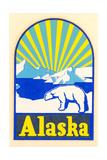 Alaska Decal  Polar Bear