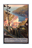 Travel Poster for Italian Riviera