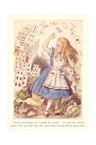 Alice in Wonderland  Flying Cards