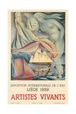 Belgian Arts Poster