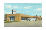 Union Pacific Bus Depot  Cheyenne