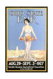Ohio State Fair Poster  Columbus