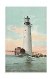 Graves Lighthouse  Boston Harbor