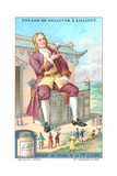Gulliver's Travels Trade Card