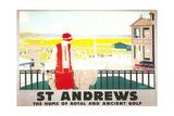 Poster for St Andrews