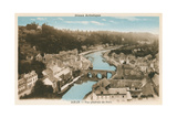 Overview of Dinan  Brittany