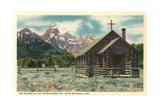 Church of the Transfiguration  Teton National Park