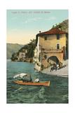 Cliff at Nesso  Lake Como